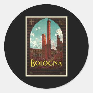 Bolonia Italia de Trematore Pegatina Redonda