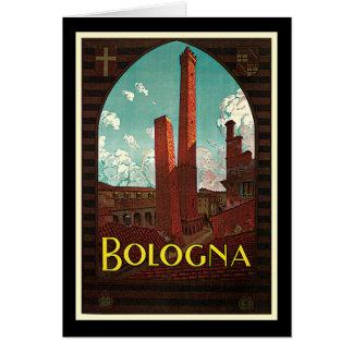 Bolonia Italia de Trematore Tarjeta De Felicitación