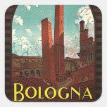 Bolonia Pegatina Cuadradas Personalizadas