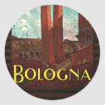 Bolonia Pegatinas Redondas
