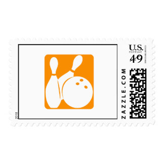 Bolos anaranjados sello