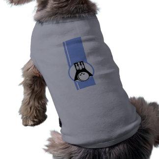 Bolos azules camiseta de perrito