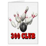 Bolos de 300 clubs felicitación