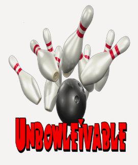 Bolos de Unbowlievable Playera