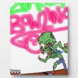 Bolos del zombi placas con fotos