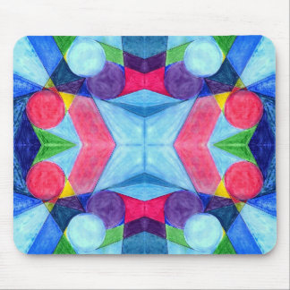 Bolos geométricos Mousepad Alfombrilla De Ratón