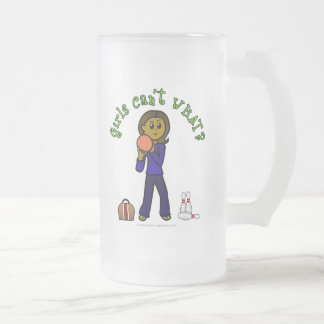Bolos para mujer oscuros taza de cristal