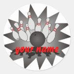 Bolos personalizados etiquetas redondas