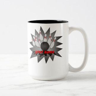 Bolos personalizados taza de café de dos colores