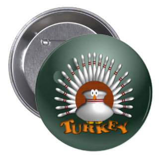 Bolos Turquía Pin Redondo 7 Cm