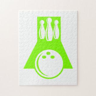 Bolos verdes chartreuses de neón puzzles