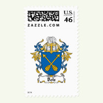 Bols Family Crest Stamps