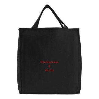 Bolsa bordada Cuentopoemas