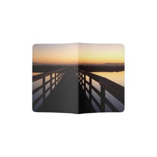 Bolsa Chica Bridge Dawn Wetlands Passport Holder