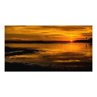 Bolsa Chica California Sunset Photo Print.