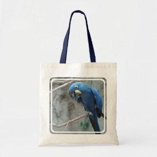 Bolsa de asas del Macaw del jacinto la pequeña