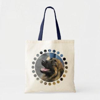 Bolsa de asas del perro de Leonberger la pequeña