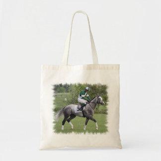 Bolsa de asas gris Dappled del caballo de raza la