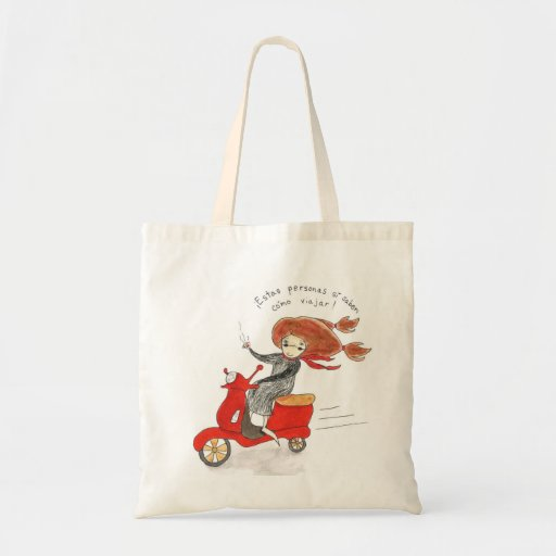 Bolsa de compras de Buen Viaje Canvas Bag