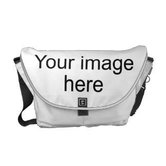 Bolsa de encargo de plantilla en blanco en bolsas de mensajeria