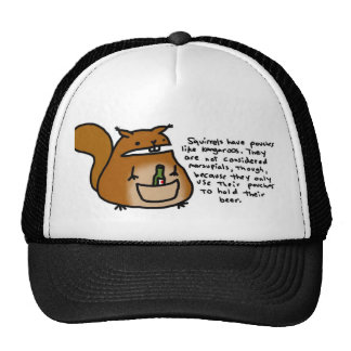 Bolsa de la ardilla gorra