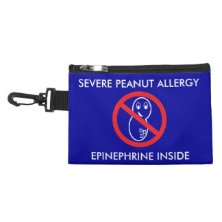 Bolsa de la emergencia de la alergia del cacahuete