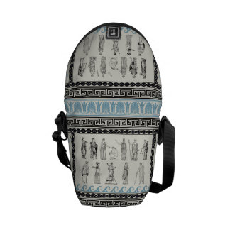 Bolsa de mensajero de las diosas de dioses del gri bolsas de mensajeria