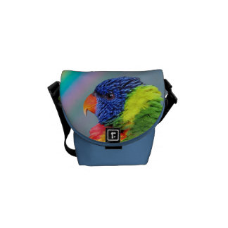 Bolsa de mensajero de Lorikeet del arco iris la Bolsa Messenger