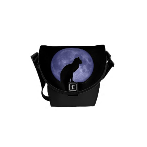 Bolsa de mensajero del carrito de la luna azul del bolsa de mensajería