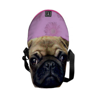 Bolsa de mensajero del carrito del perro del barro bolsa de mensajeria