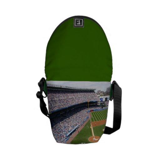 Bolsa de mensajero del estadio de béisbol la mini bolsa de mensajeria