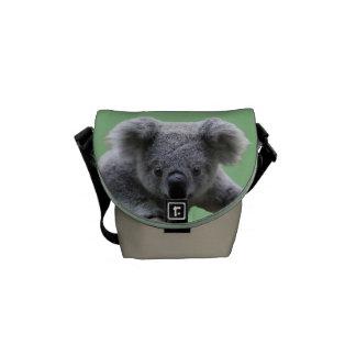 Bolsa de mensajero del oso de koala la mini bolsa de mensajeria