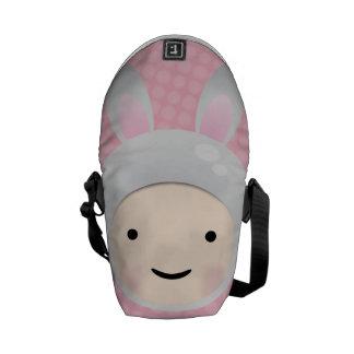 Bolsa de mensajero dulce del conejo de conejito de bolsa de mensajeria