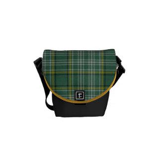 Bolsa de mensajero elegante de la tela escocesa de bolsas de mensajeria