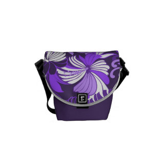 Bolsa de mensajero hawaiana de la selva del bolsas de mensajeria