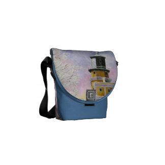 Bolsa de mensajero ligera de enero la mini bolsa de mensajería