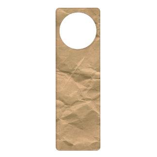 Bolsa de papel colgante para puerta