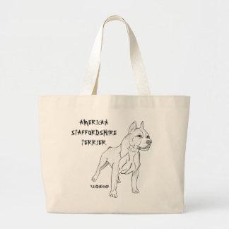 Bolsa de playa American Staffordshire Terrier
