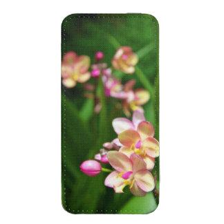 Bolsa de Smartphone del Orchidaceae Funda Acolchada Para Móvil