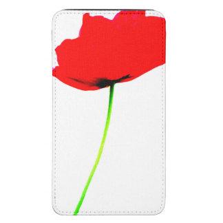 Bolsa del teléfono de la colección de la AMAPOLA Bolsillo Para Galaxy S5