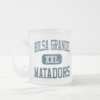Bolsa Grande Matadors Athletics 10 Oz Frosted Glass Coffee Mug
