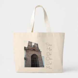Bolsa, Iglesia Antigua Sta Ma Del Oro Jumbo Tote Bag