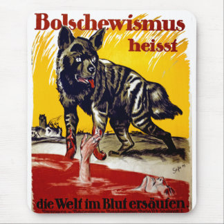 Bolschewismus Heisst Mouse Pad