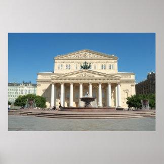 Bolshoi Theatre Poster