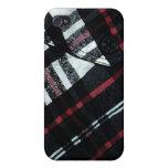 bolsillo a cuadros iPhone 4 coberturas