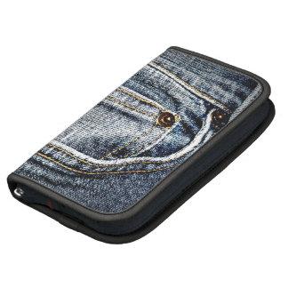 Bolsillo azul de Jean del falso dril de algodón Organizador