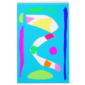 Bolsillo de los caramelos del maíz del puente del calendario de pared