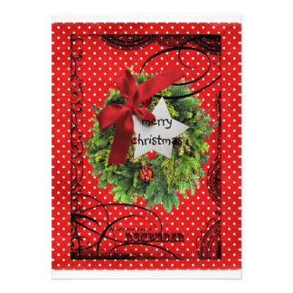 Bolsillo del navidad tarjeta bendecidos felices de