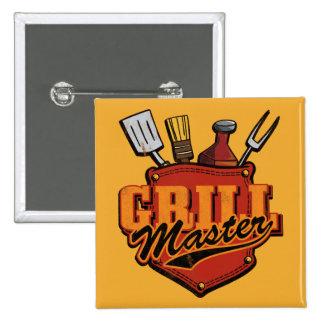 Bolsillo Grill Master Pin