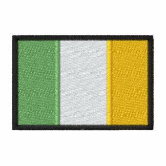 Bolsillo irlandés de la bandera camiseta polo